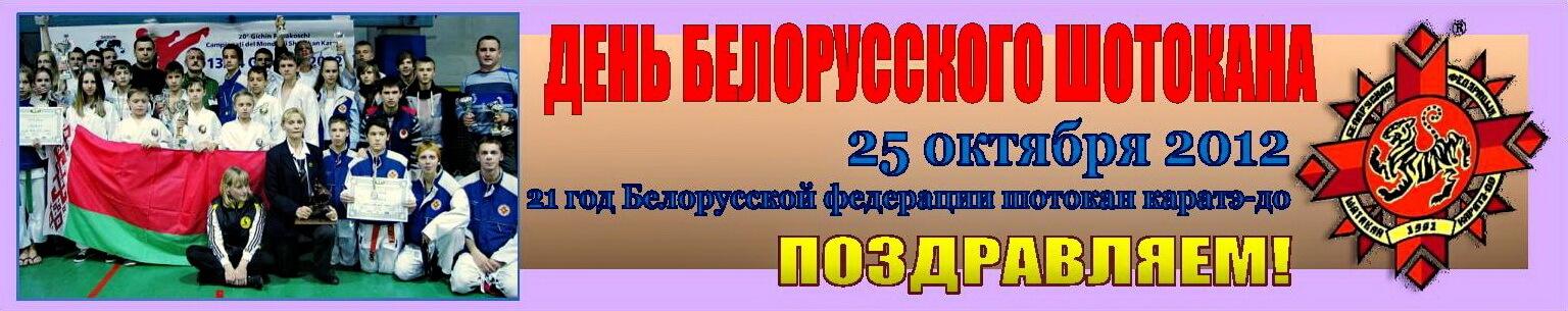 День шотокана-2012 БФШК-21 Баннер