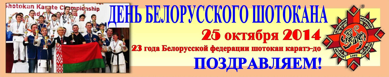 День шотокана-2014 БФШК-23 Баннер