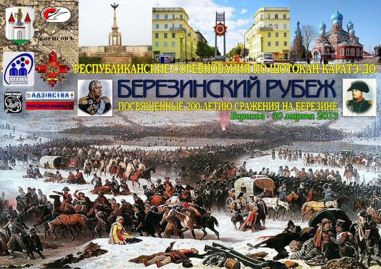 Борисов-Березина 2013 Постер