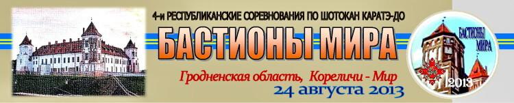 Кореличи-Мир 2013 Баннер