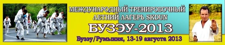 Бузэу-2013 Баннер