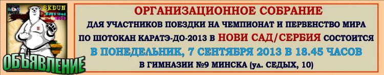 Нови Сад-2013 Собрание