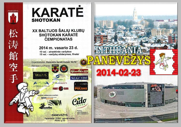 Паневежис-2014 Постер