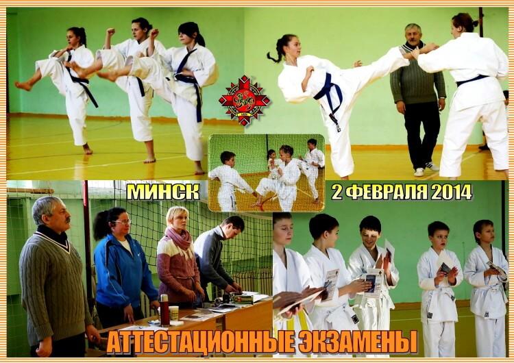 Аттестация БФШК 02-02-2014 Коллаж
