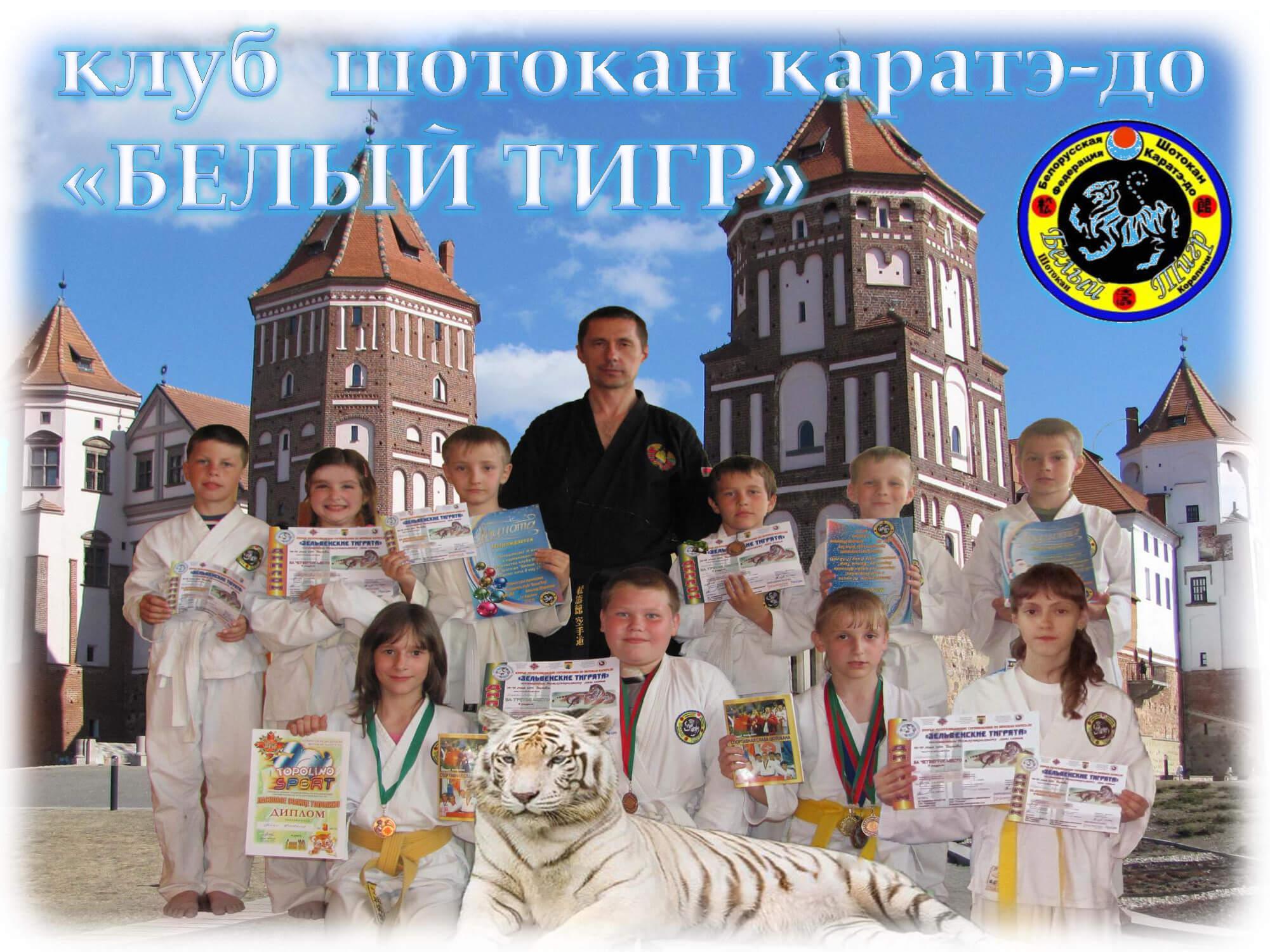 Кореличи-2011 Клуб Белый тигр