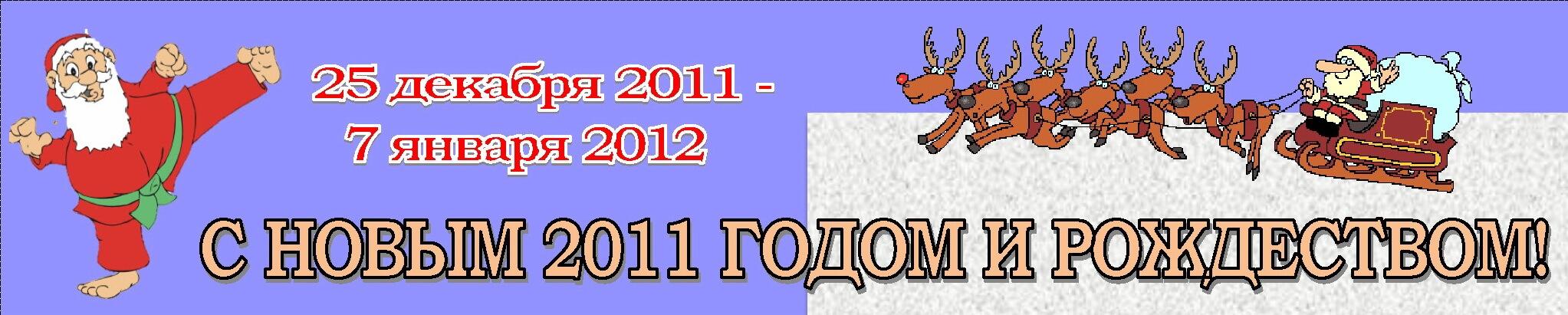Новый год-2011 Баннер