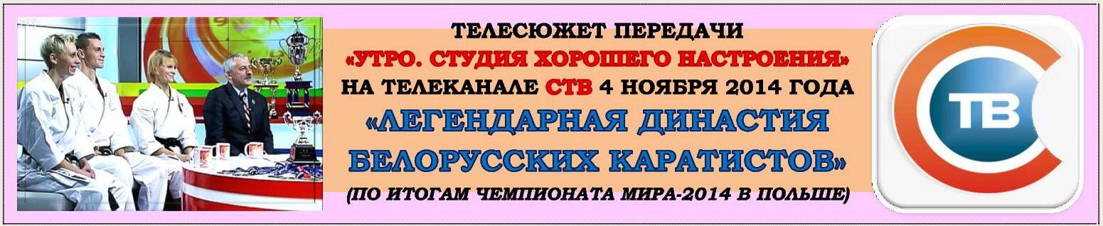 Анонс телесюжета СТВ 2014-11-04 ТВ