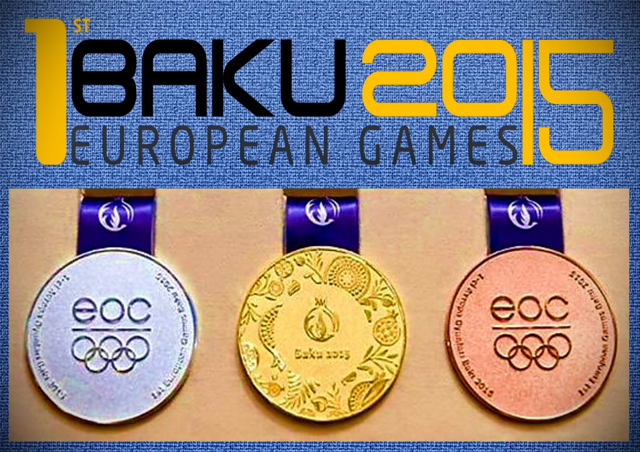 Баку-2015 Медали