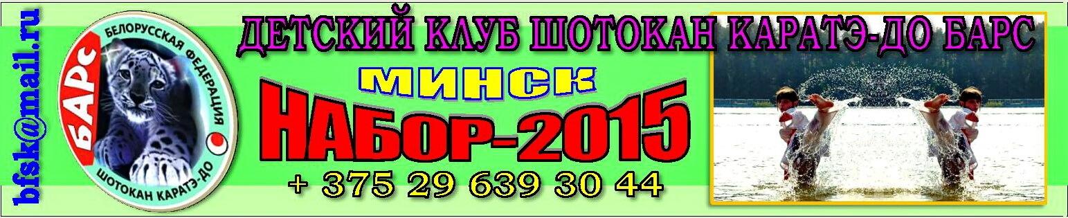Барс Набор-2015