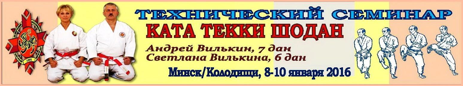 2016 Семинар текки-1 Баннер