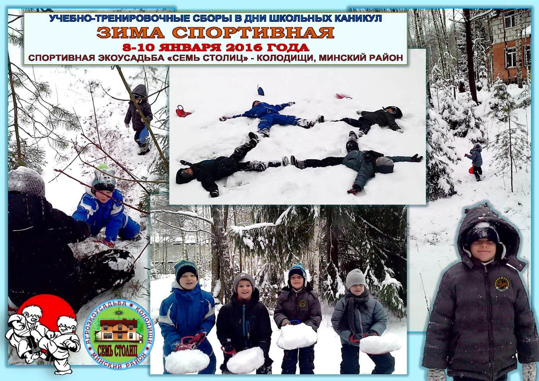 Зима спортивная-2016 Коллаж-1