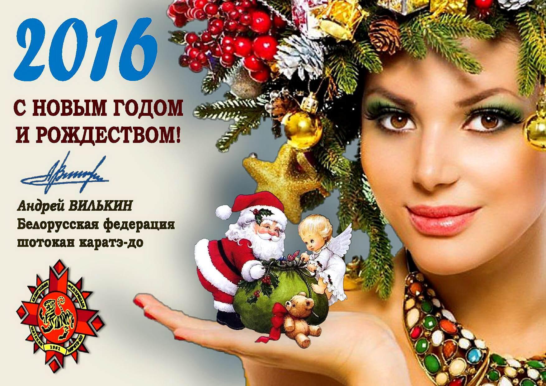 С Новым годом-2016
