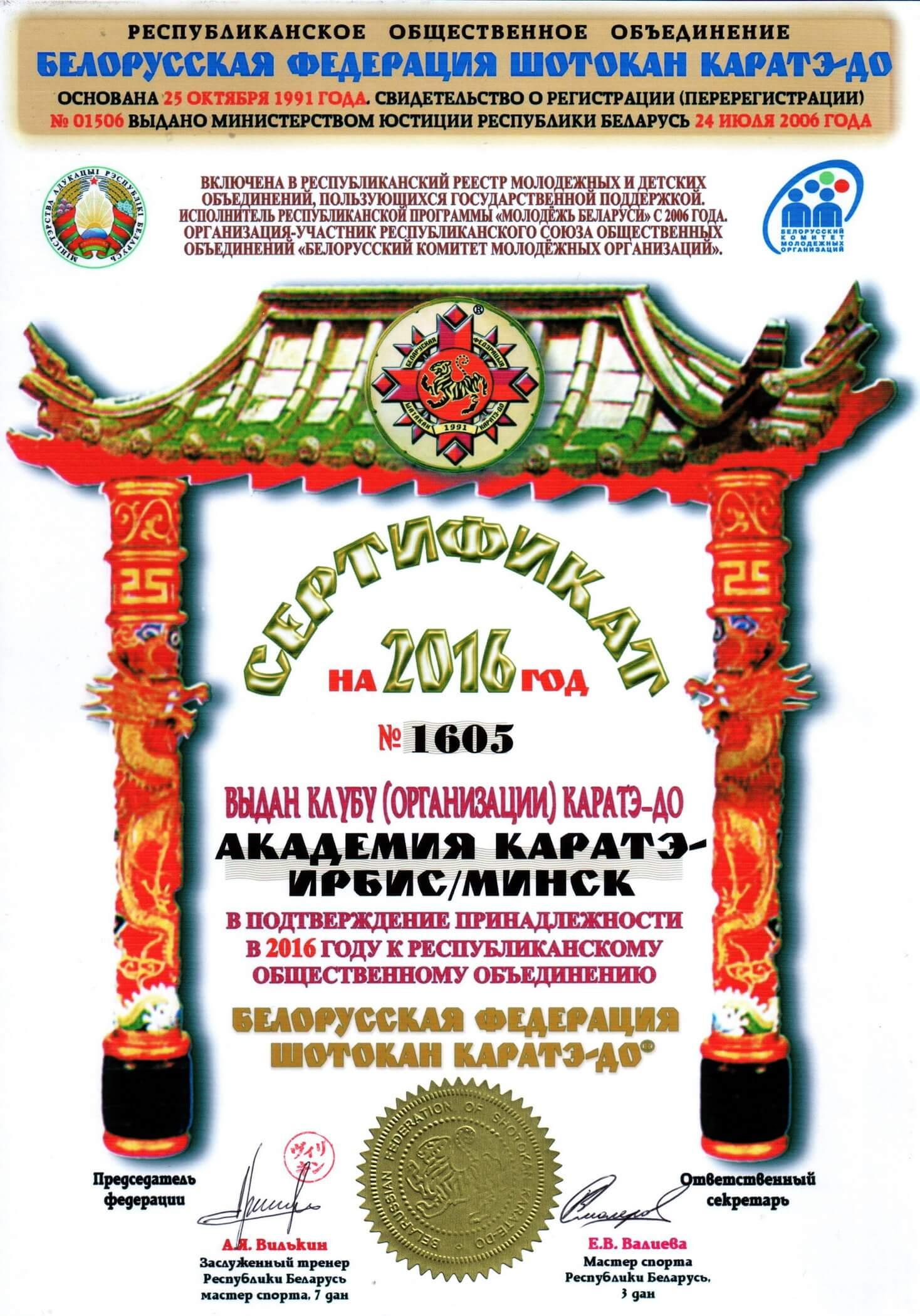 Академия каратэ-Ирбис 2016